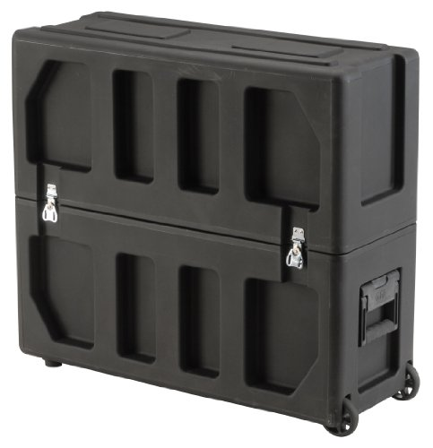 Skb Equipment Case, Roto-Molded Lcd Case Fits 20 - 26 Screens, Universal Foam Pad Set
