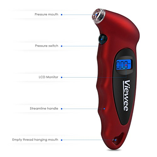 TacklifeViewee-Manometro-Digitale-per-Pneumatici-Manometro-di-Pressione-per-lAuto-e-Moto-Con-LED-Dispaly-e-Illuminazione