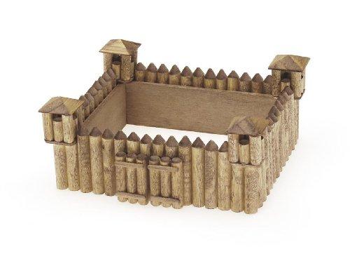 Darice 9181-23 Wooden Model, Fort Kit
