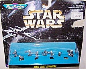 Amazon.com: Star Wars Micro Machines Rebel Fleet Troopers: Toys