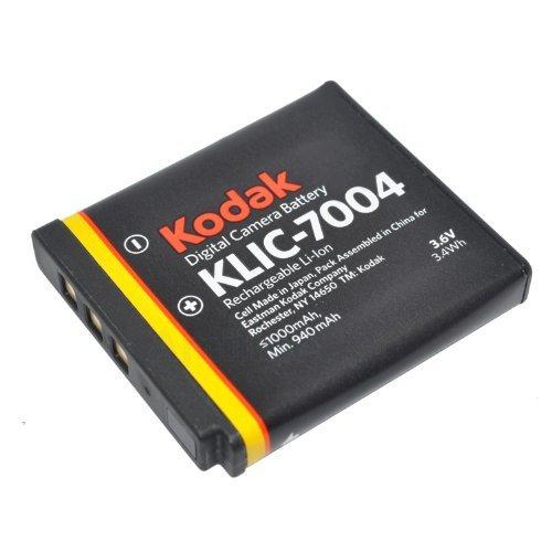 Kodak KLIC-7004 Li-Ion Rechargeable Battery for Kodak Digital Cameras & Kodak Zi8 Pocket Video Camera
