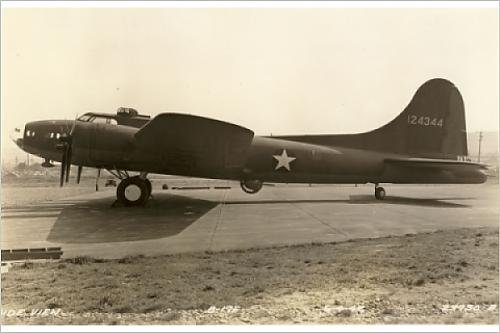 Photographic Print of Boeing B-17F Flying Fortress April 1942