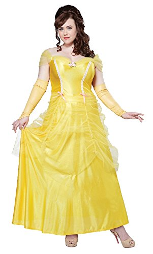 Halloween 2017 Disney Costumes Plus Size & Standard Women's Costume Characters - Women's Costume CharactersCalifornia Costumes Women's Plus-Size Classic Beauty Fairytale Princess Long Dress Gown