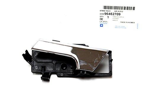 Genuine General Motors Left Interior Door Handle for Chevy Chevrolet Aveo Part: 96462709 (Handle Door Aveo compare prices)