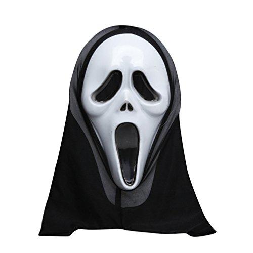 [Ghost Screaming Mask Costume Mask Halloween Mask] (Smiley Horror Mask)