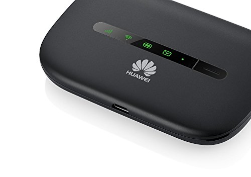 Huawei E5330Bs-6 21Mbps 3G Mobile WiFi (3G 850/1900MHz in the Americas, 3G  2100MHz in Europe, Asia, Middle East, Africa) - Black