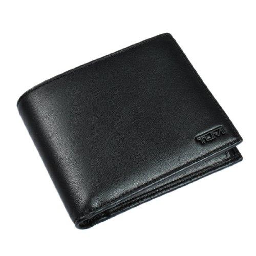 トゥミ TUMI DELTA 小銭入れ付き二つ折り財布 GLOBAL COIN WALLET BLACK レザー ブラック 18637D