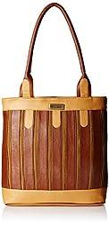 Fantosy Women's Handbag (Tan and Beige) (FNB-380)