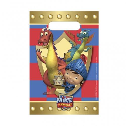 """""""Mike le chevalier"""" sacs de fête (pack de 8)"""