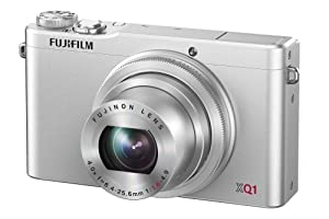 Fujifilm XQ1 Digital Camera - Silver (12MP X-Trans CMOS II Sensor, 4x Optical Zoom) 3 inch LCD