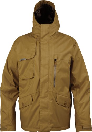 Burton Esquire Snowboard Jacket Sherpa Mens Sz S