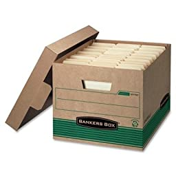 FEL12770 - Bankers Box Stor/File Extra Strength Storage Box