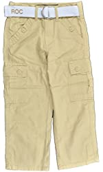 Rocawear Boys Almond Cargo Pant With Belt