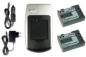 2x Baterías + Cargador para Canon NB-2L - Consulte la lista de compatibilidad - Electrónica Más información y revisión del cliente