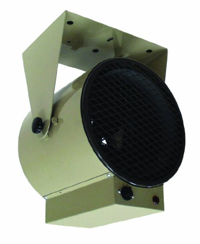 TPI Corporation HF685TC Fan Forced Portable Heater, 4800/3600W, 240/208V