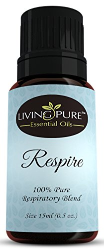#1 Respiratory Essential Oil & Sinus Relief Blend - Supports Allergy Relief, Breathing, Congestion Relief, & Respiratory Function - 100% Organic Therapeutic & Aromatherapy Grade - 15ml
