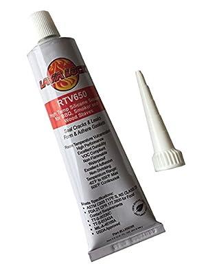LavaLock RTV 650 F BBQ grill smoker sealer Hi Temp FOOD SAFE Silicon adhesive 3 oz