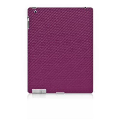 iCarbons Purple Carbon Fiber Vinyl Skin for iPad 2 / iPad 3 Wifi / Verizon Back Only deep purple deep purple stormbringer 35th anniversary edition cd dvd