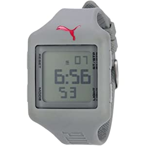 PUMA Men's PU910791008 Slide (Large) Grey Digital Watch