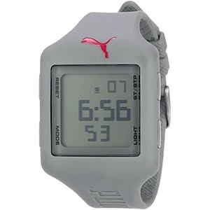 PUMA Men's PU910791008 Slide (Large) Grey Digital Watch