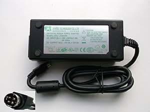 VÉRITABLE Jentec JTA0409 ADAPTATEUR SECTEUR 5V 5A 12V 3A à 4 broches, DIN CONNEXION POUR LCD, disque dur externe, DVD ETC