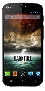 Wiko Darkfull Smartphone débloqué 3G Ecran 5 pouces Mémoire 16 Go 13 Mégapixels Android 4.2.1 Jelly Bean Bleu Nuit