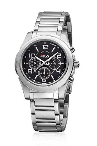 Fila FA-4124-11 - Reloj , correa de acero inoxidable color plateado