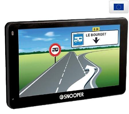 Navigation GPS SNOOPER CC5200 NOIR EUROPE