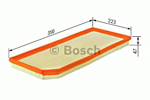 BOSCH Engine Air Filter Insert Fits VOLVO V70 V60 S80 S60 XC60 XC70 1.6-4.4L 06- (C 35 177 compare prices)
