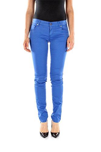 Jeans Bikkembergs Donna Cotone Blu DQ50BE1B0371311 Blu 29 Slim Fit