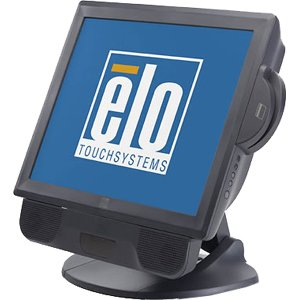 Elo Magnetic Stripe Reader - Magnetic card reader - USB - ( Tracks 1, 2 & 3 ) - dark gray