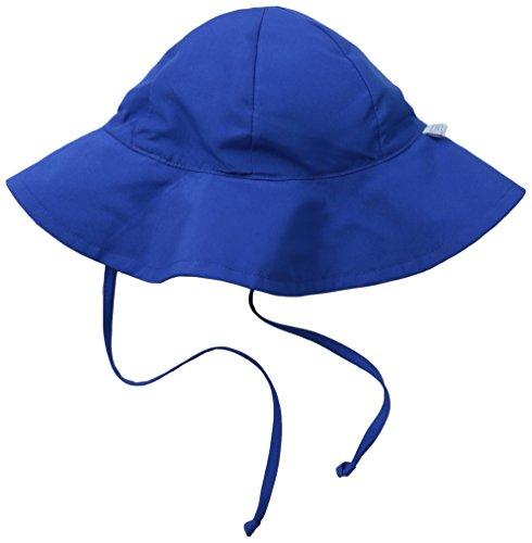 i play. Baby Brim Sun Protection Hat, Royal, 0-6 Months (Solid Brim Sun Protection Hat compare prices)