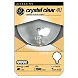 41KInf5 jPL. SL160  GE 12980 6 40 Watt Globe G25 Light Bulb, Crystal Clear, 6 Pack