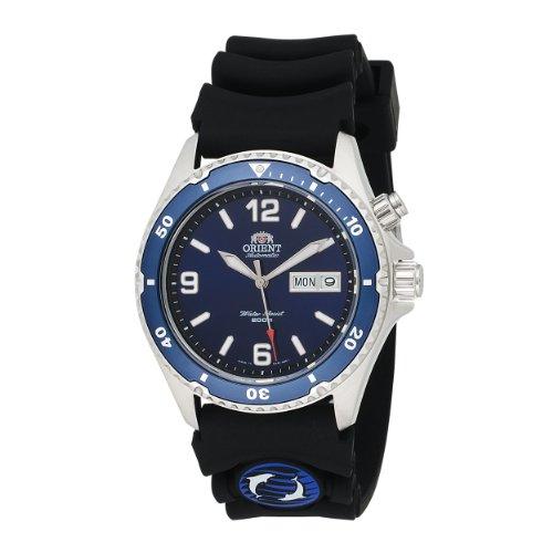 Orient Men's CEM65005D 'Blue Mako' Automatic Rubber Strap Dive Watch