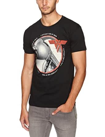 CITY HALL. Van Halen - Truth Album - Camiseta para hombre, color negro, talla Small
