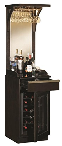 Built In Wine Cooler Cabinet front-26359