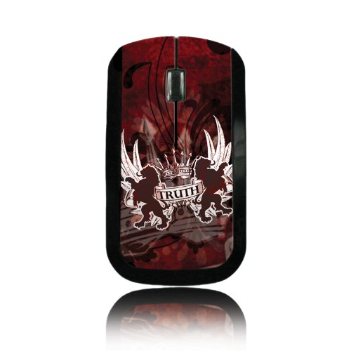 Truth Lion Red Wireless Mouse