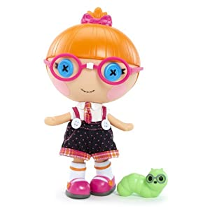 Lalaloopsy Littles Doll - Specs Reads-a-Lot