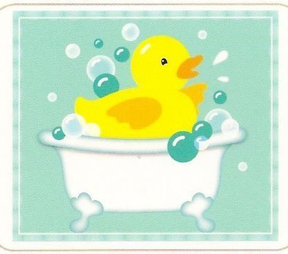 Rubber Duck ~ Cake / Cupcake ~ Edible Image