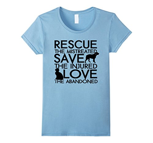 Animal Rescue T Shirt Gift