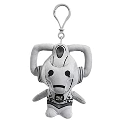 Doctor Who Small Cyberman - Talking Clip On Plush