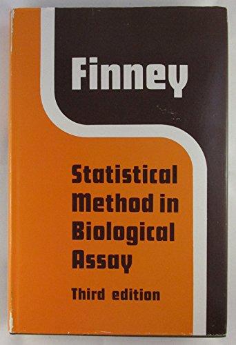 Statistical Method in Biological Assay (Mathematics in Medicine series) PDF