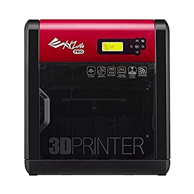 XYZ Printing da Vinci 1.0 Pro 3-in-1 (3D Printing, 3D Scanning, Optional Laser Engraver), Open Filament, 20x20x20cm Built Vol.