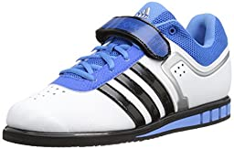 adidas Performance Men\'s Powerlift.2 Trainer Shoe,White/Black/Bright Royal,7 M US