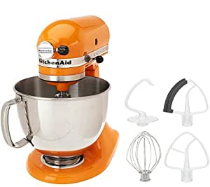 kitchenaid 5 qt 325 watt tilt head stand mixer w flex