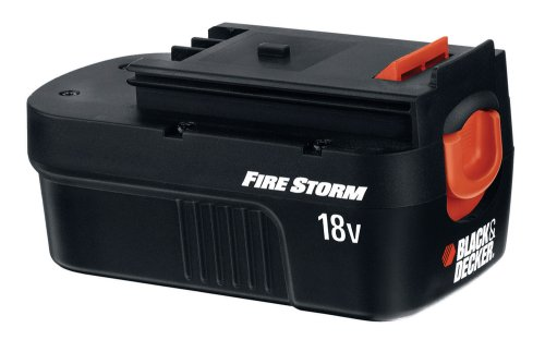 Black & Decker FSB18 FireStorm 18-Volt NiCad Slide Style Battery