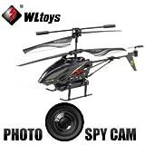 WLtoys S977 Mini Hélicoptère Radiocommandé RC 3.5 Voies RTF avec CAMÉRA INTÉGRÉE