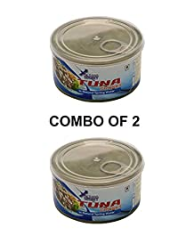 oceans secret tuna in natural spring water combo of 2(180g each)