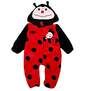 M&a Mono Body Pijama Jumpsuit OtoÑo Invierno Para BebÉ NiÑo NiÑa Unisex por M&A