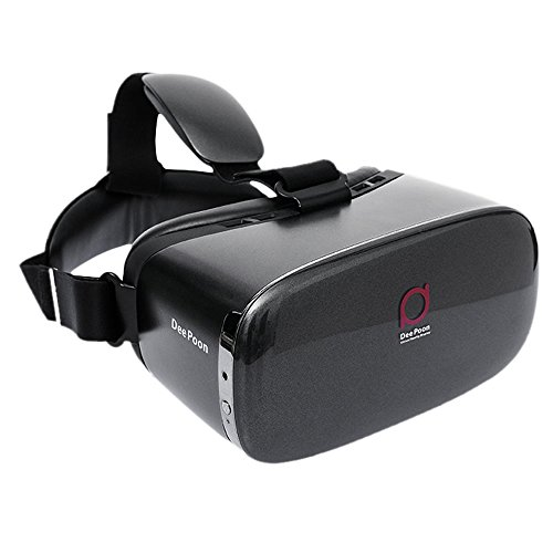Andoer DeePoon E2 Virtual Reality Display Glasses VR Video Game Glasses 1080P AMOLED Display Screen Head-Mounted with HDMI Cable for Computer Notebook